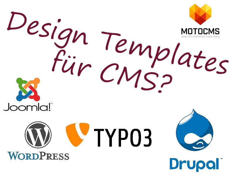 Template Design für CMS